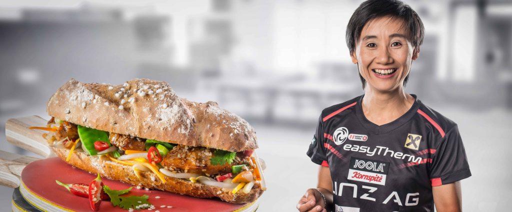 Kornspitz szendvics